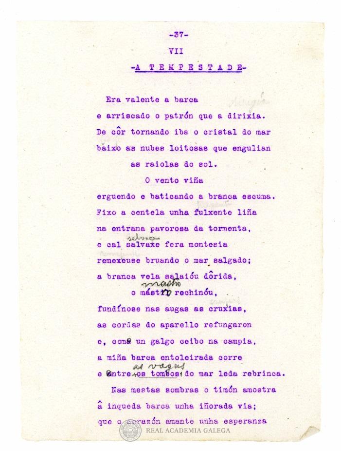 Poemas En La Red Para Conmemorar El Nacimiento De Gonzalo López Abente Poeta Del Mar Y De La Costa Da Morte